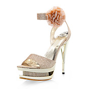 RHODANTHE - Stiletto para Casamento Salto Stiletto com Glitter Brilhante