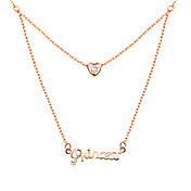 Gorgeous Alloy With Princess Women's Necklace