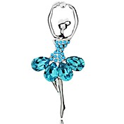 Fashion Alloy With Rhinestones / Crystal Brooch (More Colors)