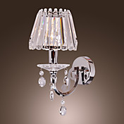 40W Moderne Crystal Wall Light med 1 Lys i Candle Feature