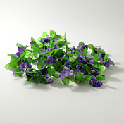2m (6.5ft)Purple Carnation Vine Decoration