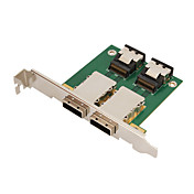 SFF8087 to SFF8088 2 SAS Connector