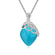Fashion Alloy With Resin Rhinestone Women's Necklaces (More Colors)