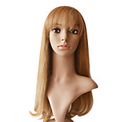 "Lace Front 100% Human Hair 20"" Silky Straight Hair Wigs Multiple Colors Available"