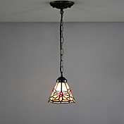 Floral Mini Tiffany Pendant Light (0923-XCDS036)