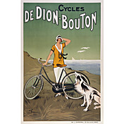 Printed Art Cycles De Dion-Bouton by Vintage Poster