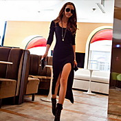 Women's High Thigh Split Maxi Dress