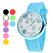 Unisex Silicone Analog Quartz Wrist Watch (Assorted Colors)