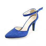Suede Stiletto Heel Sandals With Buckle Party / Evening Shoes (More Colors)