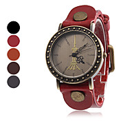 Women's Wrist Style Analog Quartz Leather Watch (Assorted Colors)