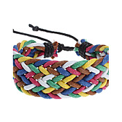 Candy Color Rope Knit Bracelet