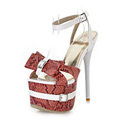 PU Stiletto Heel Sandals  With Platform Party / Evening Shoes(More Colors)