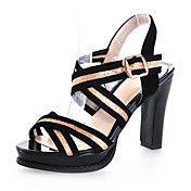 Chic Sparkling Glitter Chunky Heel Sandals With Split Joint Party / Evening Shoes (More Colors)