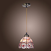 60W E27 Stright Pendent Light with Colorful Shade in Shell Feature