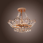 Luxuriant Crystal Pendant Lights with 6 Lights