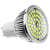 GU10 6W 48x2835SMD 480-560LM 6000-7000K Natural White Light LED Spot Bulb (11-240V)