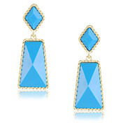 Lovely Alloy 18K Gold Plated Drop Earrings More Color Available