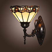KERR - Applique stile tiffany con una lampadina