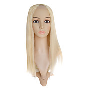 Lace Front 100% Human Hair 18&quot; Straight Hair Wigs