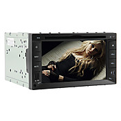 6.2 Inch 2DIN Car DVD Player (GPS, ATSC, iPod, RDS)