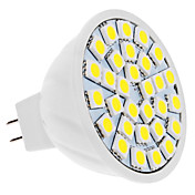 MR16 5W 30x5050 SMD 400-420LM 6000-6500K Natural White Light LED Spot Bulb (12V)