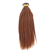 100% Indian Remy Hair 16 Inch Silk Straight Stick-tip Pre-bonded Fusion Hair Extensions