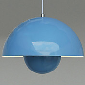 60W Chic UFO Pendant Light with Bright Color Mushroom-Shaped Shade(5 Color Selectable)