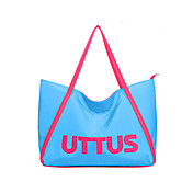 Fashion Stilfuld Contrast Color Letters Pattern Tote