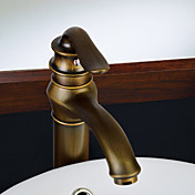 Centerset Antique Copper Finish Bathroom Sink Faucets