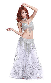 Dancewear Polyester With Beading/Embroidery Performance Belly Skirt Outfit For Ladies
