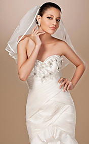 2 Layers Elbow Length Wedding Veil