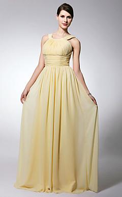 LANSING - Vestido de Madrinha em Chifon