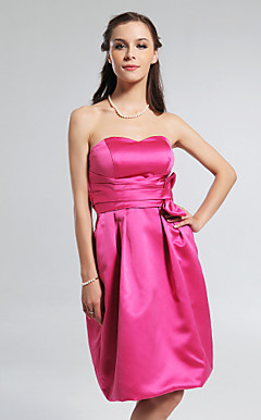 KNOWSLEY - Robe de Demoiselle d'Honneur Satin