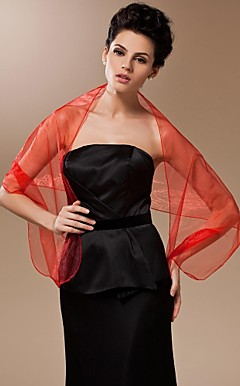 Sheer Organza Evening/Office Shawl (More Colors)