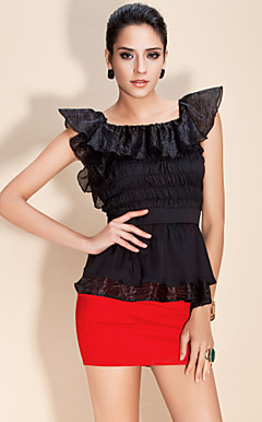 TS Ruffle Lotus Style Vest Top