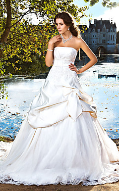 ORLANTHA - Abito da Sposa in Raso