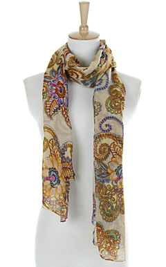 Beautiful Flax&amp;Cotton Special Occasion Scarf