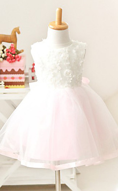 Nice Hihaton Net / Tulle Häät / Evening Flower Girl Dress