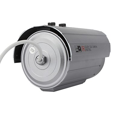 "All Metal CCTV Surveiliance Camera with Sony 1/3"" CCD + 36 IR LEDs"