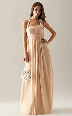 الجملة الجملة Gaylene- فستان صديقة العروس