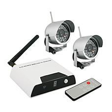 venta al por mayor los sistemas de seguridad inalámbricos Kit (2 cámaras ir + 4 canales)