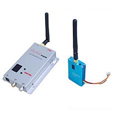 venta al por mayor 2.4G Wireless 12-CH 700mW de la habitación a habitación de audio / vídeo remitente BL-607t (sfa221)