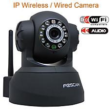 venta al por mayor cámara IP inalámbrica con IR LED + control remoto