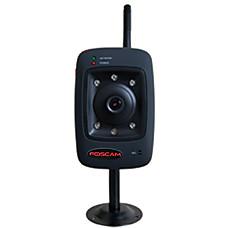 venta al por mayor foscam cámara IP inalámbrica fija con 2 vías de control de audio