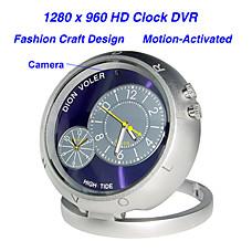 venta al por mayor estilo de reloj de la cámara en color con sensor de movimiento (HD)