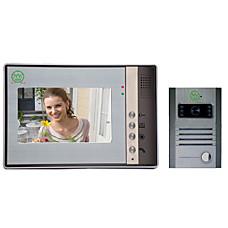 venta al por mayor cámara automática con timbre de la puerta de intercomunicación video (sy802mb11dvr)