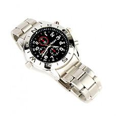 venta al por mayor 8gb reloj espía con cámara oculta hd
