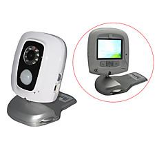 """venta al por mayor todo-en-un pir sensor de infrarrojos de visión nocturna del dvr de movimiento-activado con 2,5 """"de pantalla LCD y mando a distancia (tra579)"""