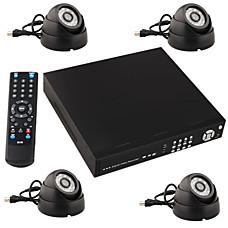 venta al por mayor en tiempo real de cámaras de seguridad (visión nocturna + 4 canales)