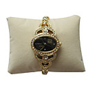 New Fashion Girl Lady Watch With Gold Accent on dial And Diamond Set on (WQ-003)(Start From 5 Units)